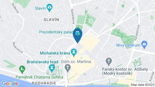 Crowne Plaza Bratislava, an IHG Hotel Map