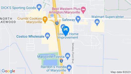 Wyndham Garden Arlington/Marysville Map