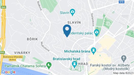 Mamaison Residence Sulekova Bratislava Map