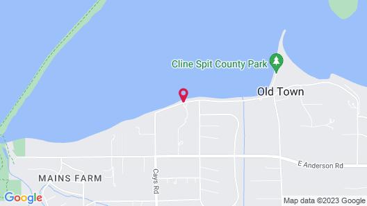 Juan De Fuca Cottages and Suites Map