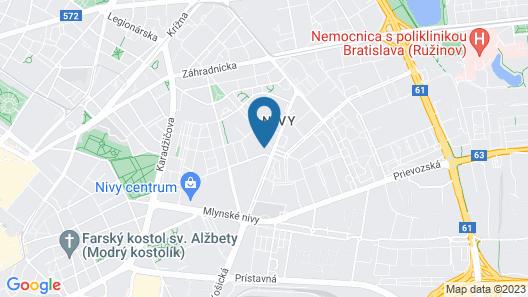 Apollo Hotel Bratislava Map