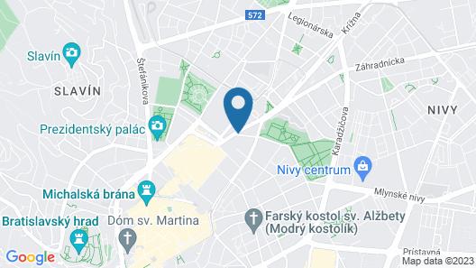 Kate&Jenny-Cosy place city center Map