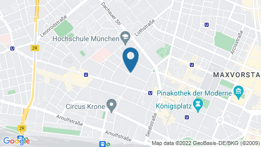 Hotel Erzgiesserei Europe Map
