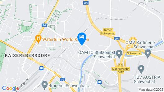 Arion Hotel Vienna Airport Map