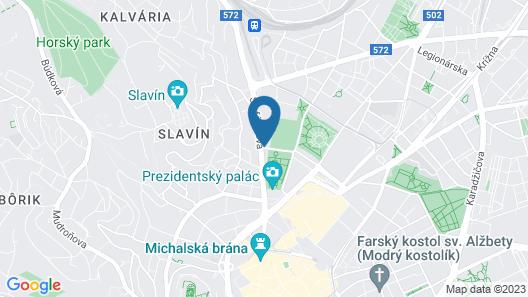 LOFT Hotel Bratislava Map