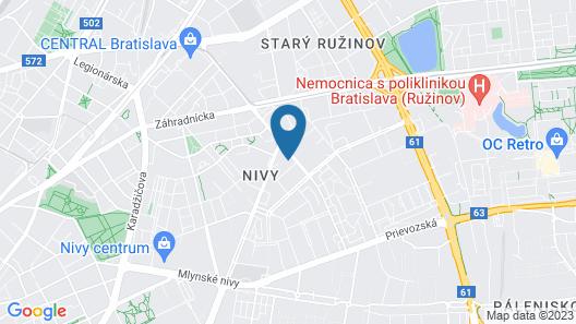 Quality Apartment Miletičova Map