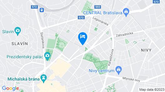 Hotel Saffron Map
