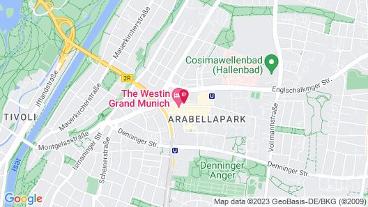 The Westin Grand Munich Map