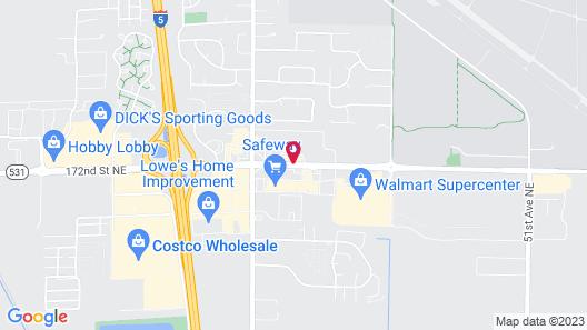 Best Western Plus Arlington/Marysville Map