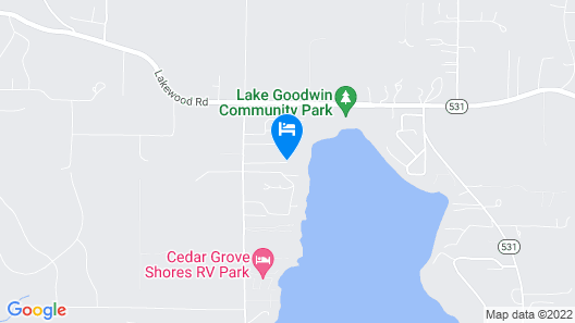 Lakefront Luxury on Goodwin Lake by RedAwning Map