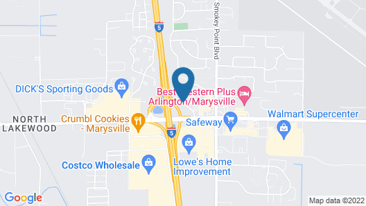 Smokey Point Motor Inn Map