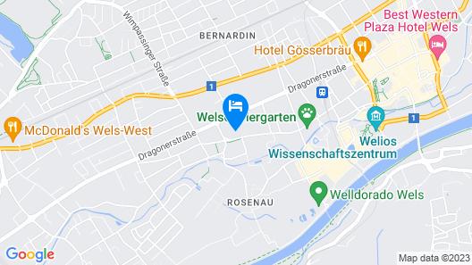 Ibis Wels Map