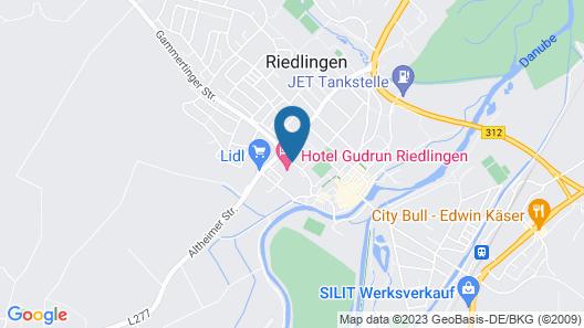 Hotel Gudrun Map