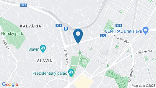 Boutique Apartments Possonium Map