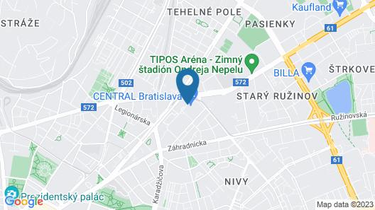 Lindner Hotel Gallery Central Map