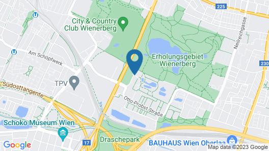 Arion Cityhotel Vienna Map