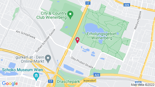 24hours Apartment Hotel Map