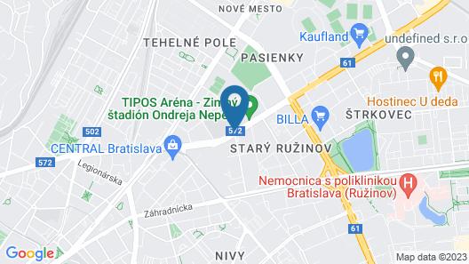 DoubleTree by Hilton Bratislava Map