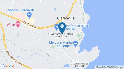 Restland Motel Map