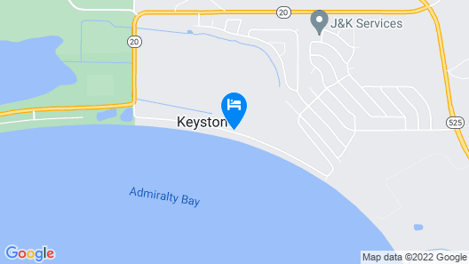 Admirals Cove Seaside Getaway Map