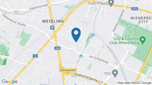 Kyriad Vienna Altmannsdorf Map