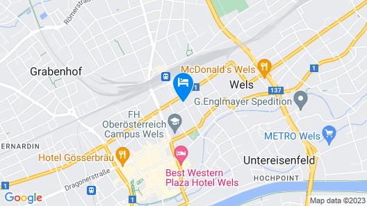 Bayrischer Hof Map