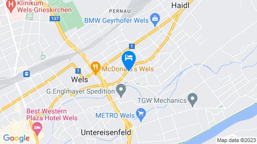 Wels Inn Hotel Map