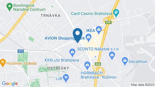 NH Bratislava Gate One Map
