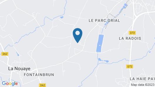 Maison d'hôtes Le Blavon Map
