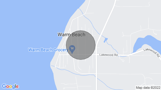 New High End Guesthouse in Warm Beach, Stanwood, WA Map