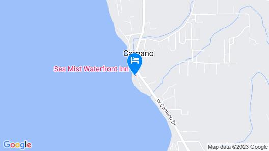 Sea Mist Waterfront Inn Map