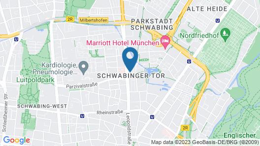 Andaz Munich Schwabinger Tor - a concept by Hyatt Map