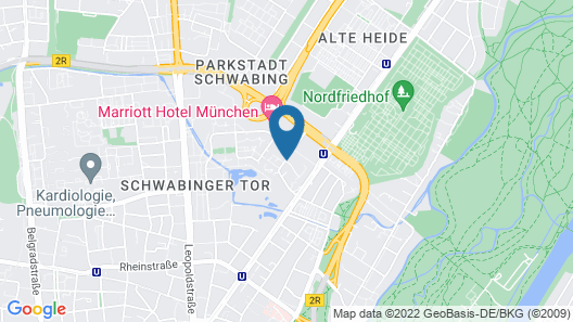 Pullman Munich Map