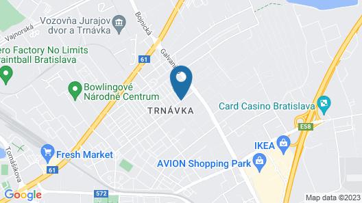 Hotel Plus Map