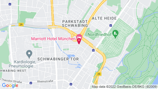 Munich Marriott Hotel Map