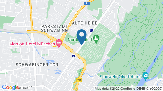 ibis Muenchen City Nord Map