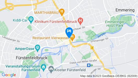 Romantik Hotel zur Post Map