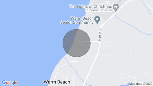 Warm Beach Peace and Beauty Map