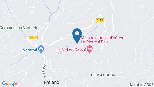 La Pierre d'Eau Map