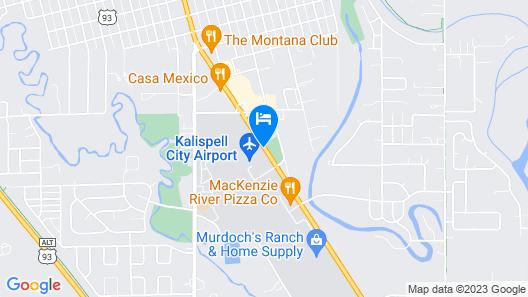Aero Inn Map