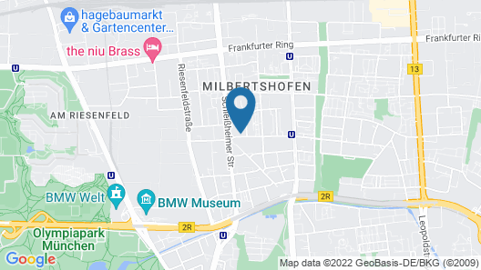 centerroom Muenchen City Map