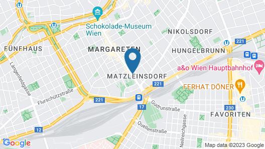 DMG Apartments Hotel Map