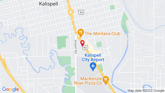 Motel 6 Kalispell, MT Map