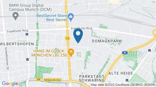 Star G Hotel Premium München Domagkstraße Map