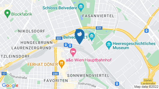 Belvedere Residence Central Station Map
