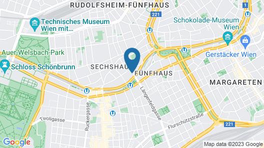 numa   Strauss Rooms & Apartments Map