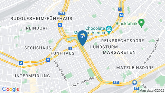MAXX by Steigenberger Vienna Map