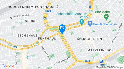 MAXX by Steigenberger Vienna Map