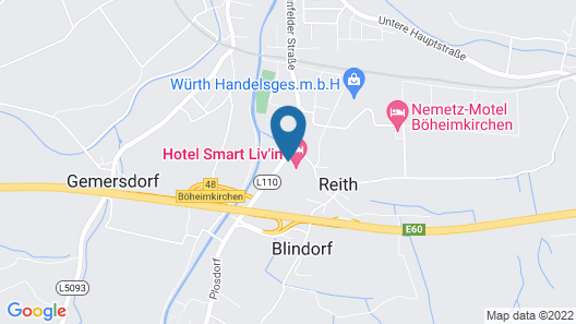 HOTEL SMART LIV'IN Map
