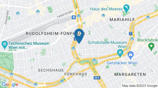 Mercure Hotel Raphael Wien Map